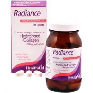 Health Aid Radiance Collagen with Vitamin C & Zinc 60 tabl
