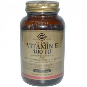Solgar Vitamin E 268 mg 400 IU 100 Capsules