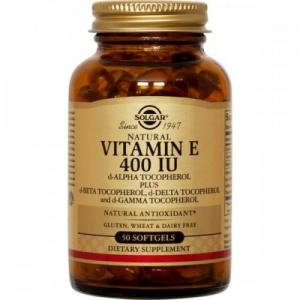 Solgar Vitamin E 400 IU 50 Softgels