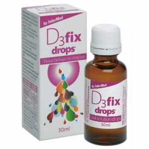 InterMed D3 Fix Drops 30ml Νεογνα ,Βρεφη Παιδια