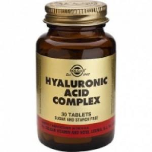 Solgar Hyaluronic Acid Complex Σύμπλεγμα με Υαλουρονικό Οξύ και Κολλαγόνο 30Tab