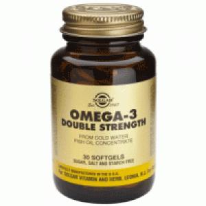 Solgar OMEGA-3 Double Strength ,30  Softgels