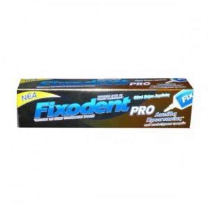 FIXODENT PRO FOOD SEAL Στερεωτική κρέμα για τεχνητές   οδοντοστοιχίες, ασπίδα  προστασίας από υπολείμματα  τροφών 40gr