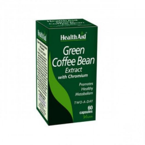 Health Aid Green Coffee Bean Extract with Chromium - 60caps