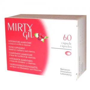Mirtygil ξηρό εκχύλισμα Cranberry ( Cran-Max ) - Με Cran-Max και Βιταμίνες C και E 60caps