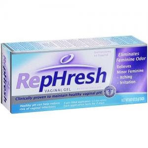RepHresh κολπικό gel 4τμχ Χ 5gr