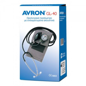 AVRON GL-40 Κλασικό πιεσόμετρο με ακουστικά