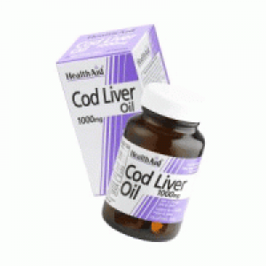 Health Aid Cod Liver Oil 1000mg 30Capsules