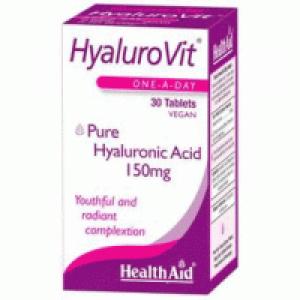 Health Aid Hyalurovit Υαλουρονικό Οξύ 30 Tablets