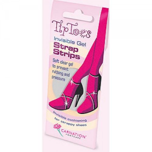 Carnation Tip Toes Gel Strap Strips 4τεμαχια