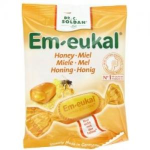 Em- Eukal Honey Καραμελες 75gr