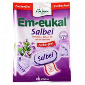 Em- Eukal Salvia Καραμελες 75gr