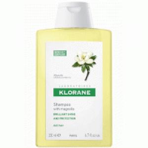 Klorane Shampoo Magnolia Το Σαμπουάν με κερί μανόλιας προστατεύει με φυσικό τρόπο την τρίχα χωρίς να τη βαραίνει 400ml