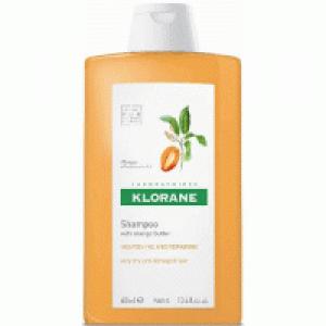 Klorane Shampoo Beurre De Mangue Σαμπουάν με βούτυρο από Μάνγκο για ξηρά - ταλαιπωρημένα μαλλιά 400ml