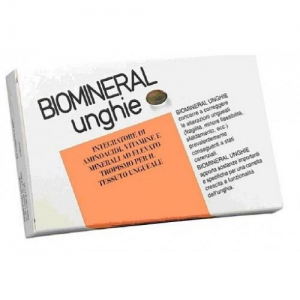 BIOMINERAL UNGHIE CAPS FOOD SUPPL. 30 CAPS