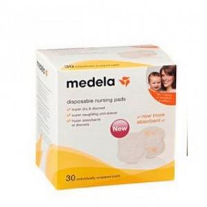 Medela Disposable Bra Pads Επιθέματα μιας χρήσης για στηθόδεσμο (30τεμ)