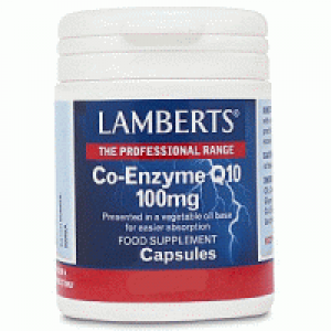 Lamberts Co-Enzyme Q10 100mg 30 Capsules