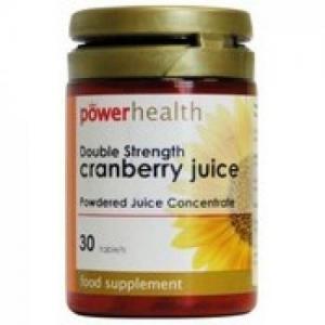 Power Health Cranberry Juice 4500 mg, για την αντιμετώπιση της κυστίτιδας και λοιμώξεων του ουροποιητικού, 30 tabs