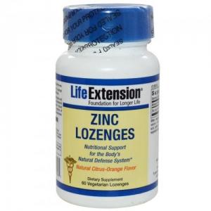 Life Extension Zinc Lozenges 60 TABL