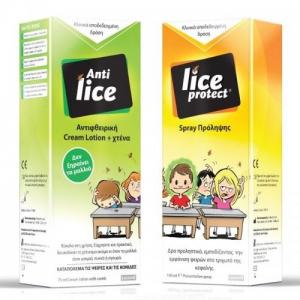 Anti Lice  Αντιφθειρικη Cream 75ml & Lice Protect Lotion 100ml Set ψειρες τελος!