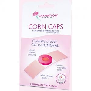 Carnation Corn Caps Επιθεματα Αφαιρεσης Καλων με Σαλικυλικο 5 τμχ