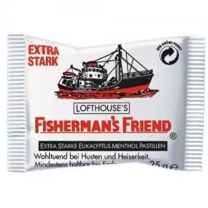 Fisherman's Friend Original Καραμελες με Μενθολη & Ευκαλυπτο 25gr