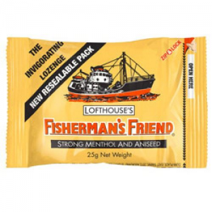 Fisherman's Friend Καραμελες LEMON (Κιτρινο)25mg