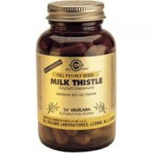 Solgar Milk Thistle 50Vegetable Capsules