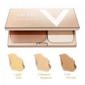 Vichy Teint Ideal Illuminating Foundation Powder Bronze 9.5gr No3 Tan