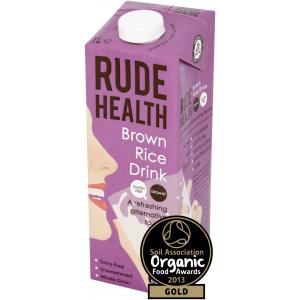 Rude Health Organic Brown Rice Drink - 1000ml