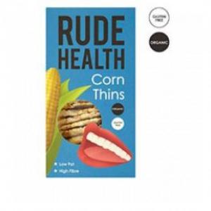 Rude Health Καλαμπόκι Thins Βιολογικά 130 γρ