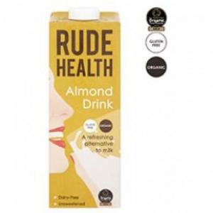 Rude Health Γάλα Αμυγδάλου Βιολογικά 1LT
