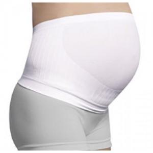 Carriwell Υποστηρικτική ζώνη εγκυμοσύνης χωρίς ραφές Λευκό