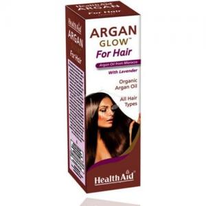 HEALTH AID ARGAN Glow for Hair - Έλαιο Αργκάν με λεβάντα 125ml