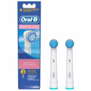 Oral-B SENSITIVE CLEAN, 2 Ανταλλακτικές Κεφαλές