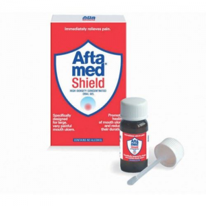 Aftamed Shield Yψηλής Πυκνότητας & Συγκέντρωσης Στοματική Γέλη 10ml