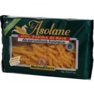 Molino di Ferro Penne Rigate Le Asolane, Πένες βιολογικής γεωργίας χωρίς γλουτένη 250gr