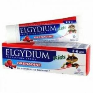 Elgydium JUNIOR Red Berries 50ml Οδοντόπαστα για παιδιά