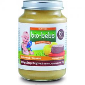 Bio-Bebe Nutrition Βιολογική Βρεφική Τροφή Πουρές Μοσχαράκι-Λαχανικά 200 gr, από τον 6ο Μήνα