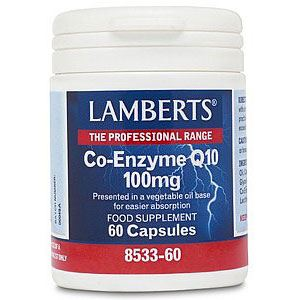 Lamberts Co-Enzyme Q10 100mg, 60caps