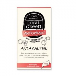 AM HEALTH Royal Green Astaxanthin 60 caps