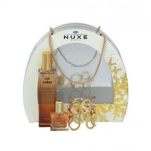 Nuxe Luxury Set Χριστουγεννιάτικο σετ Prodigieux le Parfum 50ml+ Huile Prodigieuse 10ml + ΔΩΡΟ Βραχιόλι