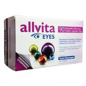 Allvita Eyes Συμπλήρωμα Διατροφής για Καλή Υγεία Οφθαλμών (90 Κάψουλες Ζελατίνης)