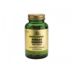 Solgar Korean Ginseng Root Extract 60 Φυτικές Κάψουλες