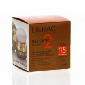 Lierac Sunific 2 Poudre Doree Irisee SPF15 6gr