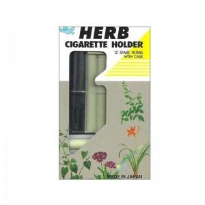 Herb Cigarette Holder πιπα με 12 ανταλλακτικα φιλτρα με θηκη