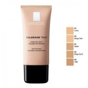 LA ROCHE-POSAY Toleriane Teint Mattifying Mousse Foundation 03 Sand (30ml)