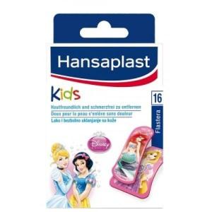 HANSAPLAST - Disney Princess - Παιδικά Αυτοκόλλητα 16 strips
