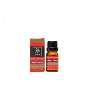 APIVITA Sweet Home - Μίγμα από πορτοκάλι, κανέλλα, γαρύφαλλο 10ml