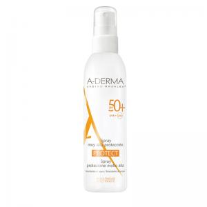 A-Derma Protect Spray SPF50+, Αντηλιακό Spray Ενηλίκων για Υψηλή Προστασία, 200ml